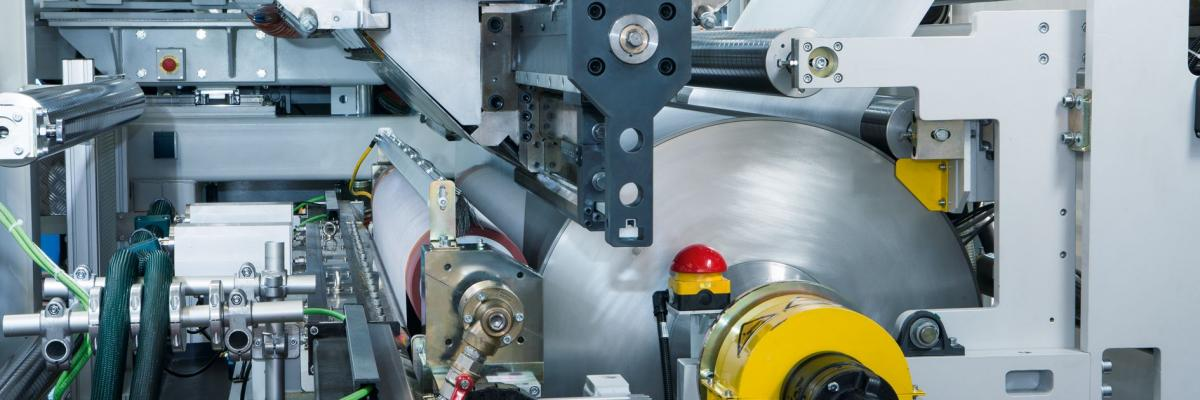 FlexPack extrusion coating and laminating line