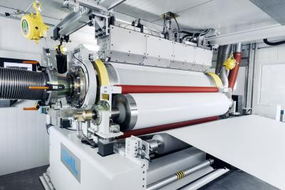 SML's TopSheet Hygiene Film Line for vacuum-perforated film